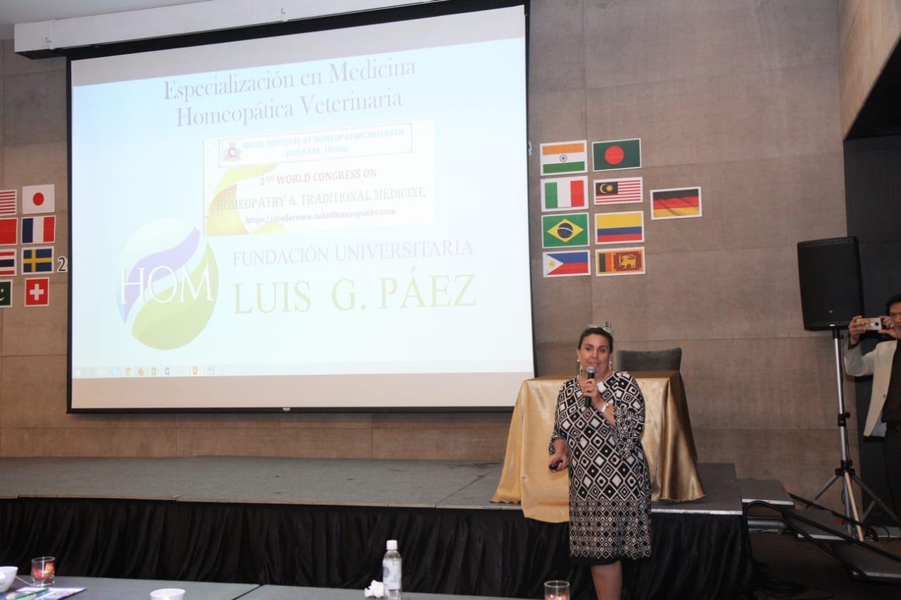 La Uniluisgpaez en el 2nd World Congress on Homeopathy & Traditional Medicine: Zero Molecule to Macromolecules Bangkok, Thailand. 2019